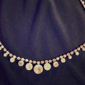 1940s Rhinestone Necklace